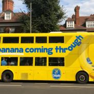 Chiquita brand bus