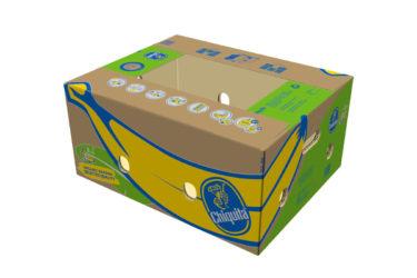 Chiquita Boxes Organics Bananas