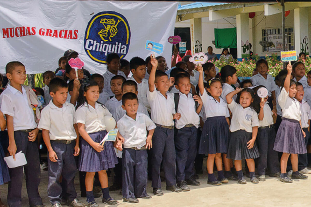 Chiquita undertook the industry's first Child Rights Impact Assessments