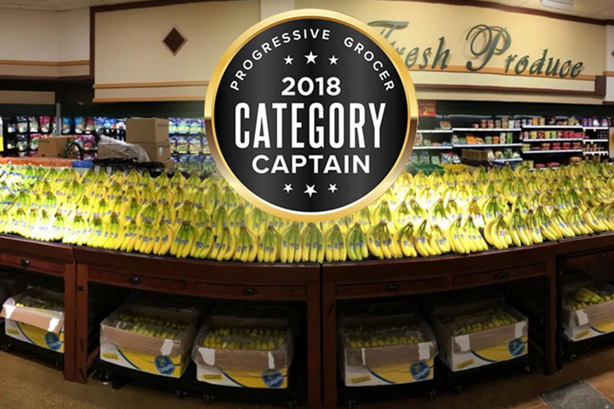 Category Captain Awards Chiquita