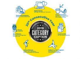 Progressive Grocer Honors Chiquita with 2019 Category Captain Award