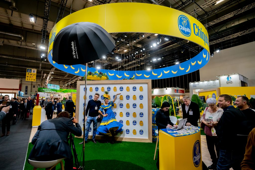 Chiquita banana at Fruit Logistica
