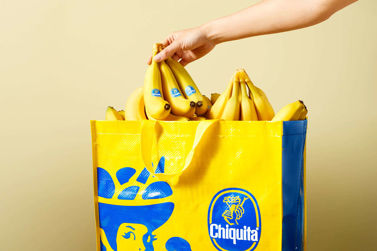 Chiquita shopping bag
