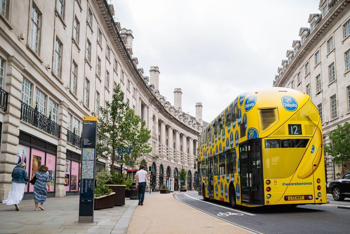 Chiquita London bus